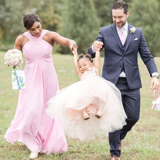 Serena Williams Shares Photos of Olympia as a Flower Girl