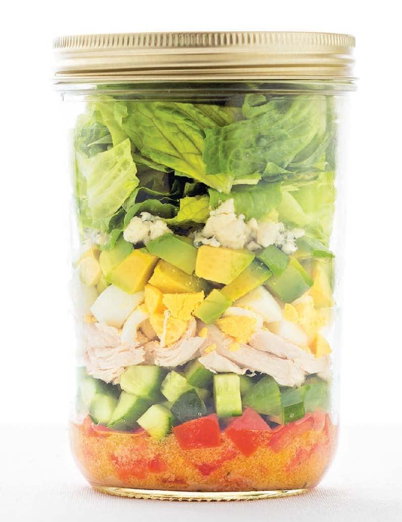 Cobb salad in a jar recipe popsugar food forumfinder Gallery