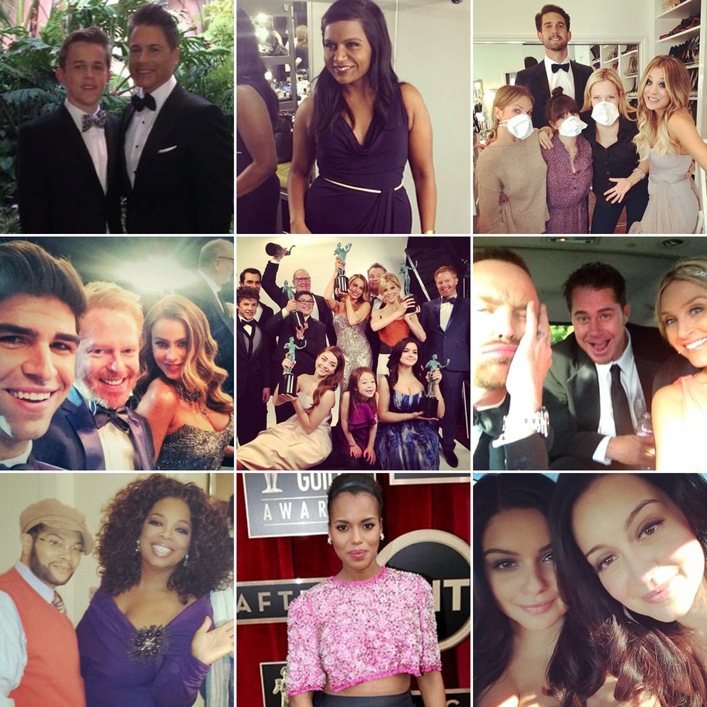SAG Awards 2014 Instagram Pictures