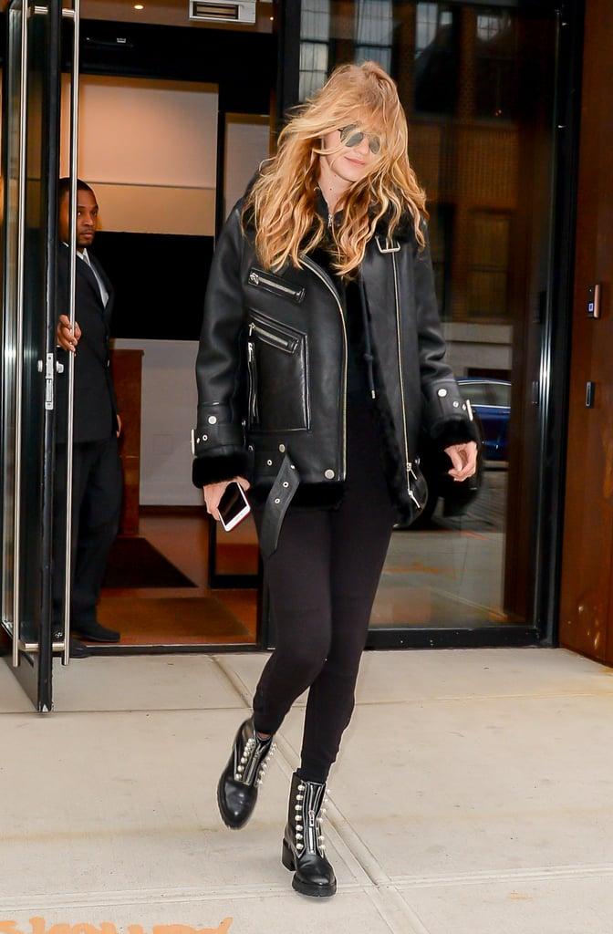 Gigi Hadid Wears The Arrivals Jacket