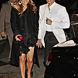 J Lo and Marc Anthony on Valentine's Day