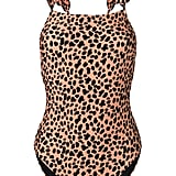 Rixo London Cherry Leopard Swimsuit