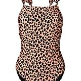 Rixo London Cherry Leopard Swimsuit
