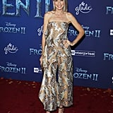 Ever Carradine at the Frozen 2 Premiere in Los Angeles