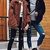 Ecowish Fuzzy Jacket