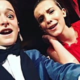 Noah Shared This SAGs Selfie a Few Weeks Later to Celebrate Millie's 13th Birthday