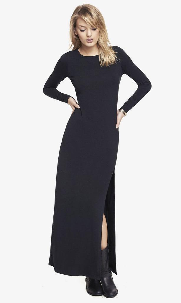 Express Slit Front Maxi Dress