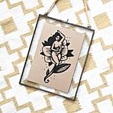 Pinup Woman Bosom Nectar Print ($11)