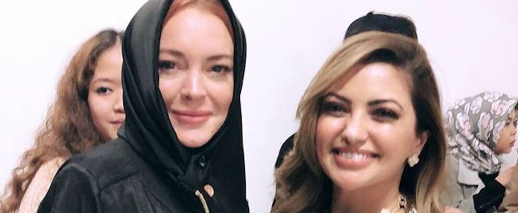 Lindsay Lohan London Modest Fashion Week