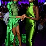 Cindy Bruna and Riley Montana at the 2019 Diamond Ball