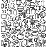 Get the coloring page: Jewels