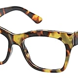 Peepers Women's Shine On Blue Light Filtering Square Reading Glasses