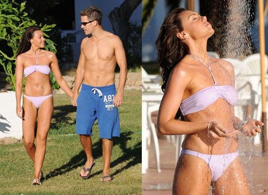 Photos of Michelle Heaton in Bikini and Fiance Hugh Hanley Shirtless in Miami