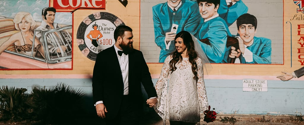 This Couple Ditched the Whole Fancy Wedding and Eloped in Las Vegas With Style Instead