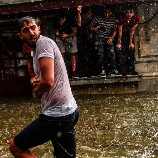 Hail Storm in Istanbul July 2017