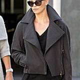 Charlize Theron With Shaved Head