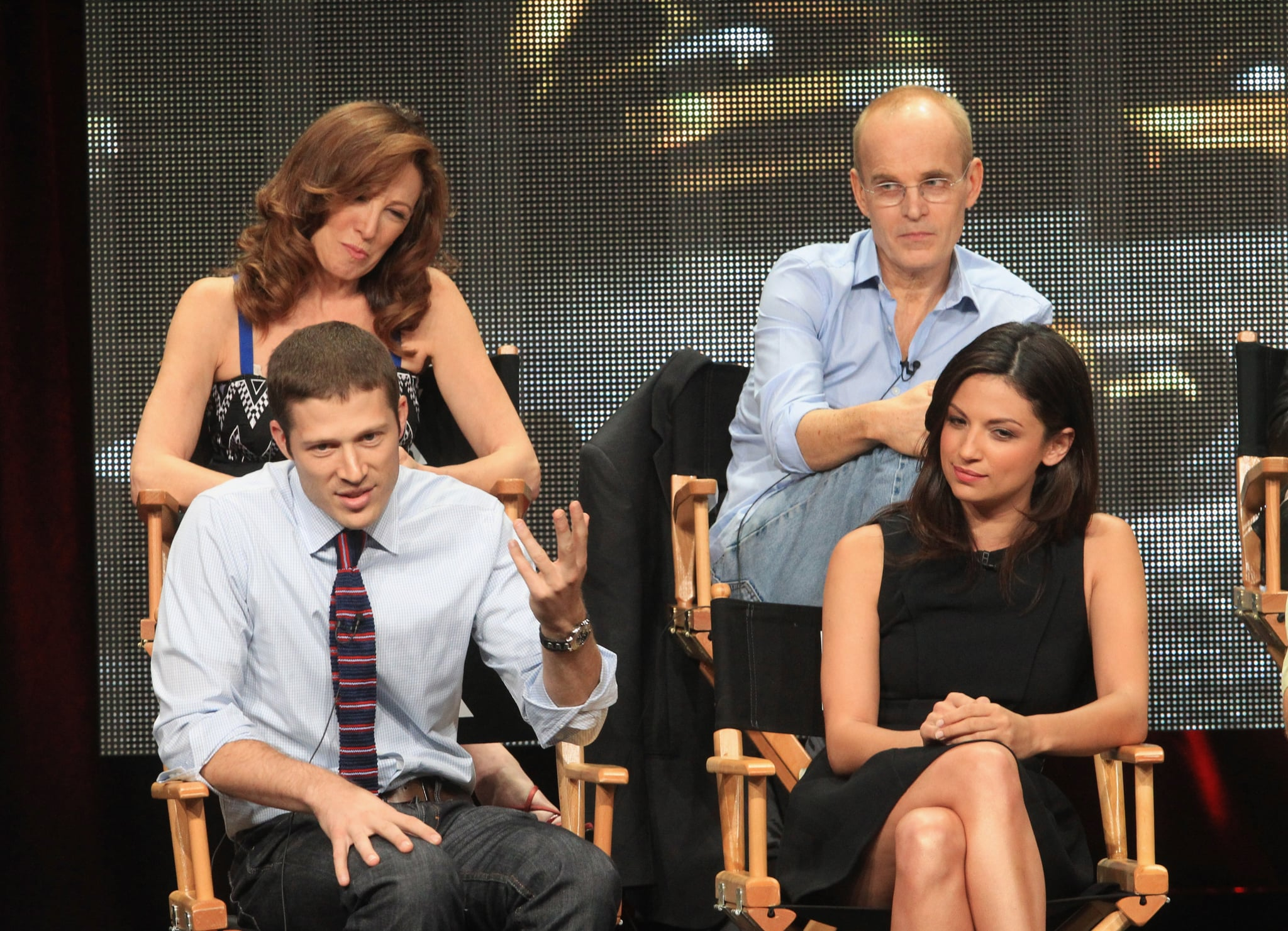 Wendy Makkena, Zeljko Ivanek, Floriana Lima, and Zach Gilford spoke about The Mob Doctor.