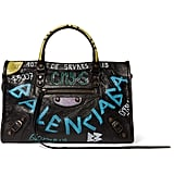 Shop It: Balenciaga Classic City Printed Textured-Leather Tote