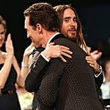 Surprise! They Hugged Again at the SAGs