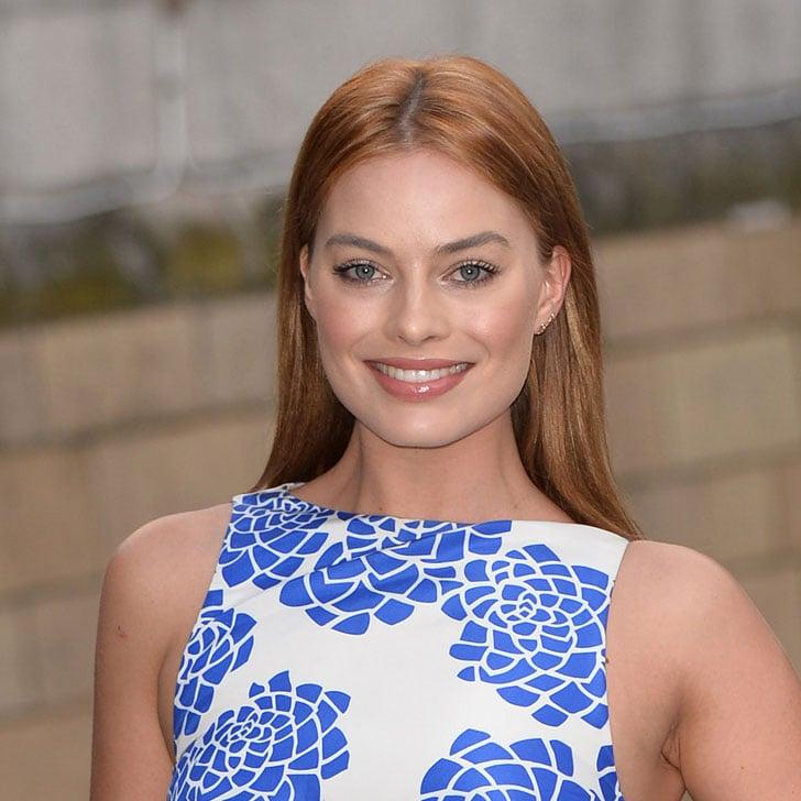 How To Get Margot Robbies Rose Gold Hair Popsugar Beauty Australia