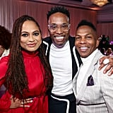 Ava DuVernay, Billy Porter, and a Guest at the 2020 Essence Black Women in Hollywood Luncheon