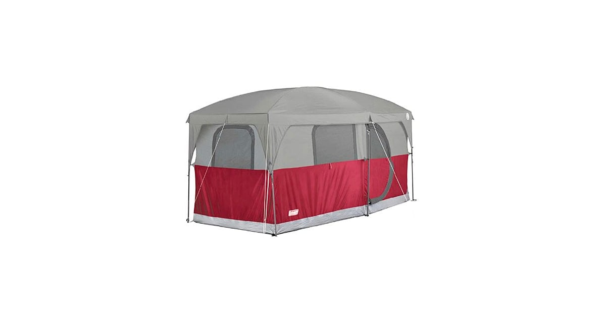 Coleman Hampton 6 Person Family Camping Cabin Tent Best