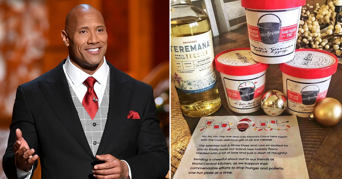 "Dwayne Johnson's Boozy New Ice Cream Line Is Here, and My Freezer Just Whispered, ""I'm Ready"""