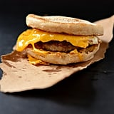 Sausage, Egg, and Cheddar Breakfast Sandwiches