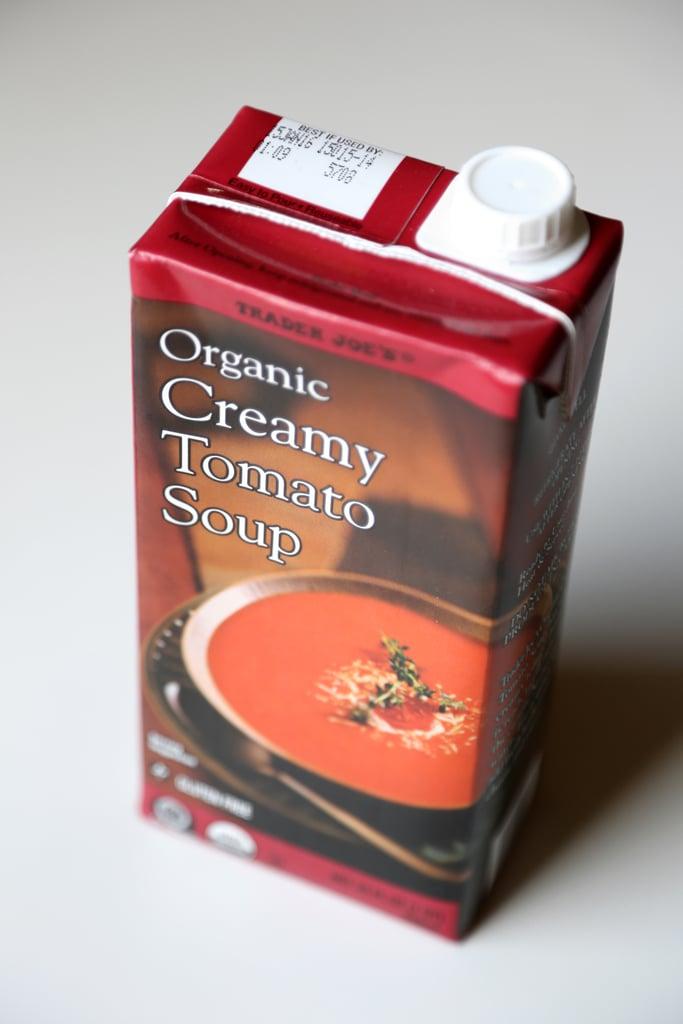 Organic Creamy Tomato Soup ($3)