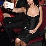Selena Gomez at the 2015 American Music Awards