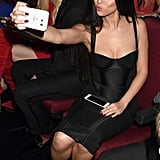 Selena Gomez Snapping a Selfie