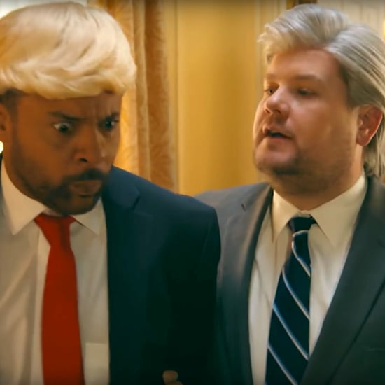 "James Corden and Shaggy Sing ""It Wasn't Me"" Trump Remix"