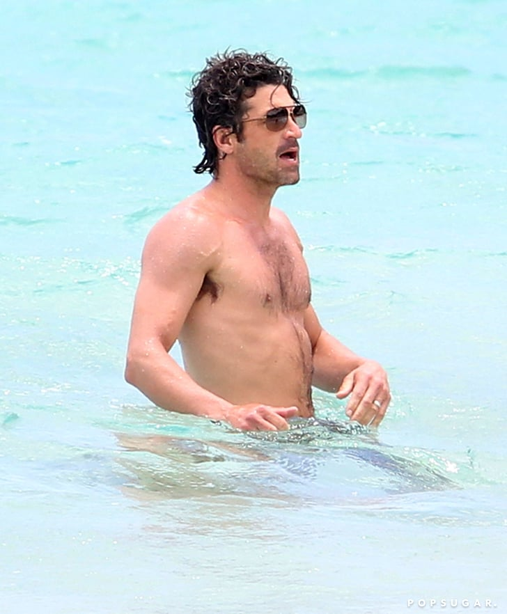 Patrick Dempsey Shirtless in Caribbean | Pictures ...