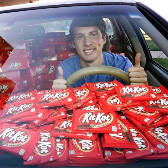 Student Receives Kit Kat Bars After Car Theft