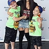 August: Nikki Followed in John's Footsteps and Surprised Make-A-Wish Families