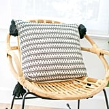 Woven Pillow in Natalia ($120)