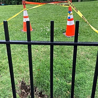 Sinkhole on White House Lawn May 2018