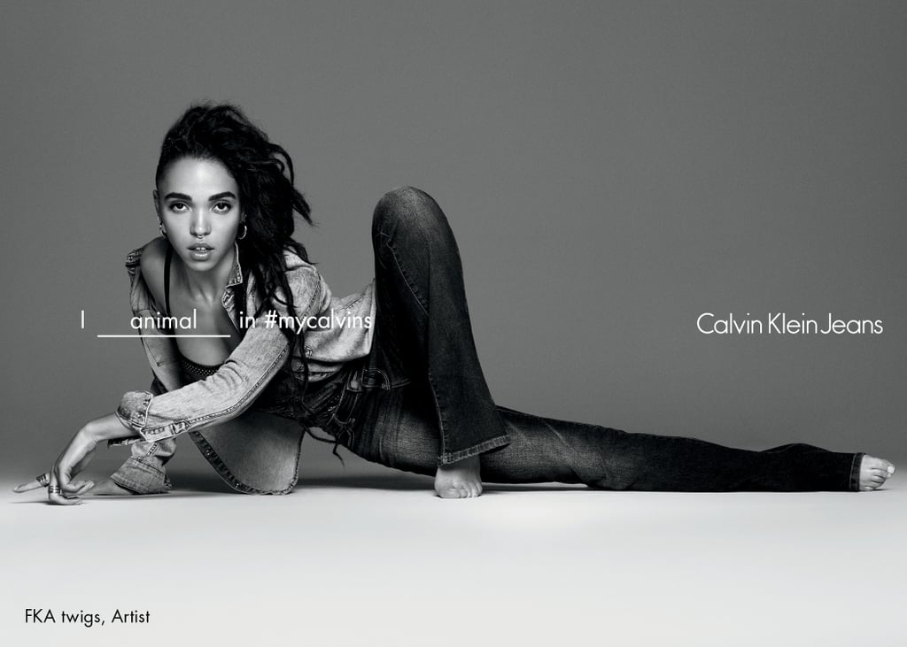 FKA Twigs Just Created Magic in Her Calvin Klein Jeans