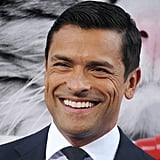 Mark Consuelos and Daughter Lola at Nine Lives Premiere