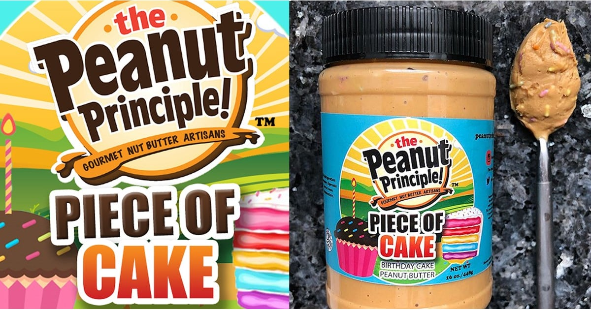 Birthday Cake Peanut Butter From The Principle