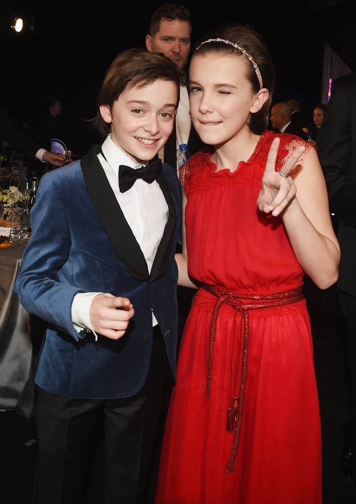 Pictured: Millie Bobby Brown, Noah Schnapp