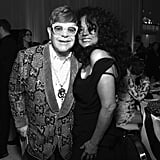 Pictured: Elton John and Diana Ross