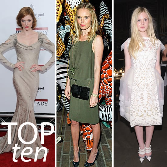 Pictures of the Top Ten Best Dressed Celebrities This Week: Rooney Mara, Rachel Zoe, Kate Bosworth and more!