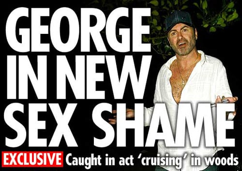 George Michael BUSTED Again