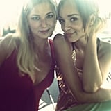 Ashley Madekwe and Emily VanCamp met up for some girl time. Source: Instagram user smashleybell