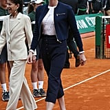 Back in April 2016, Princess Charlene was spotted wearing cropped trousers at the Monte Carlo Masters.