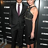 Kate Bosworth and James Marsden at Straw Dogs premiere.