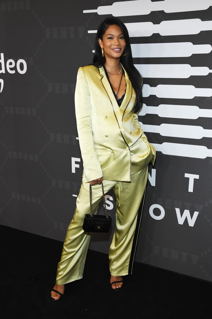 Chanel Iman at the Savage x Fenty New York Fashion Week Show