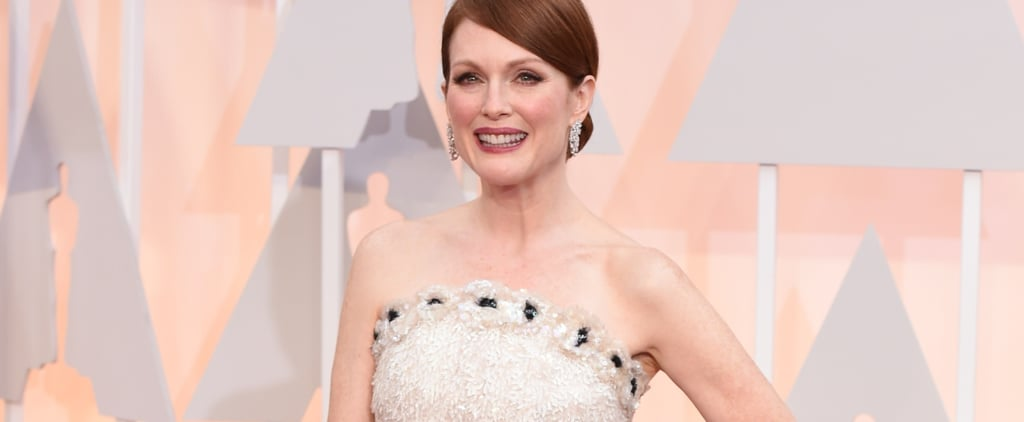 Poll: There's a Crazy Story Behind Julianne Moore's Chanel Dress