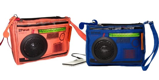 Boombox Bags Are Now Available in Peach and Blue